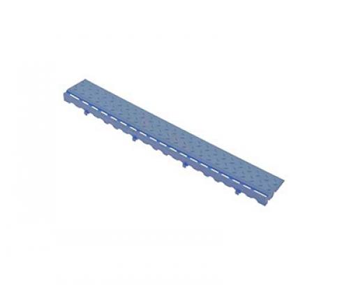 Боковой элемент обрамления с замками Синий
