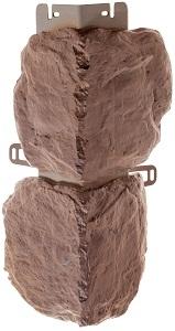 Наружный угол бутовый камень (Скифский) 440 х 180 мм