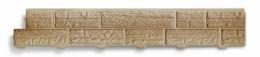 Панель виниловая СФ - 01 Бежевый размер 3100 х 230 мм