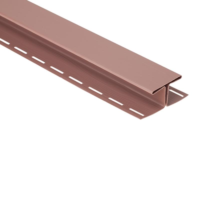"""Планка """"соединительная"""" Т-18 """"BH"""" размер 3000 мм Красно-коричневый"""