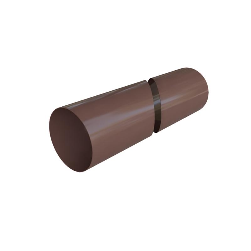 Труба водосточная ПВХ 3000 мм Элит (Коричневый)