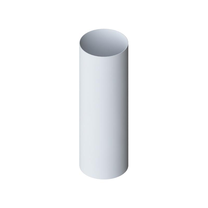 Труба водосточная ПВХ 3000 мм Элит (Белый)