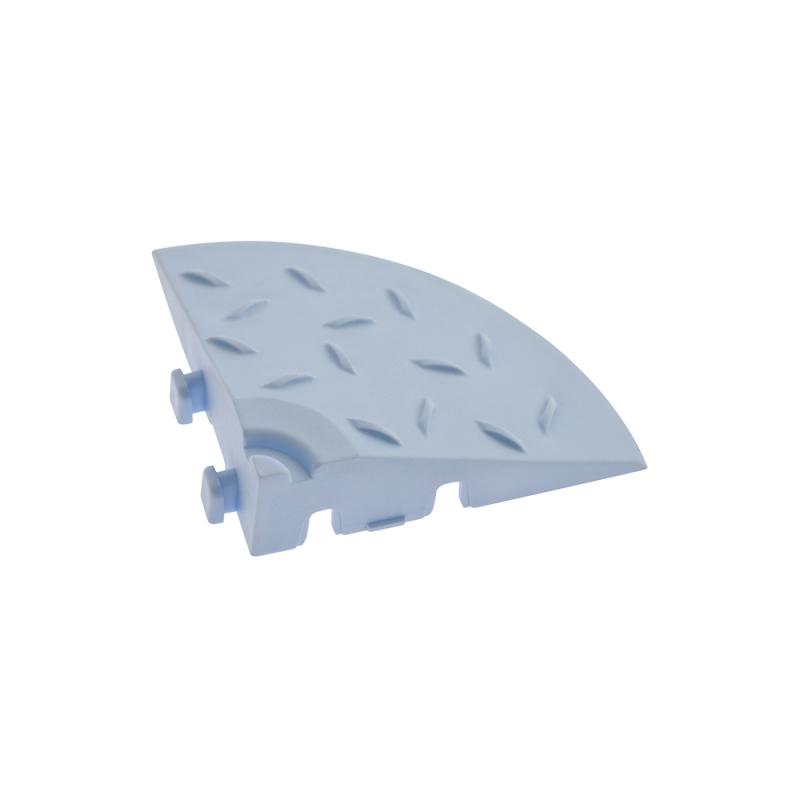 Угловой элемент обрамления Голубой