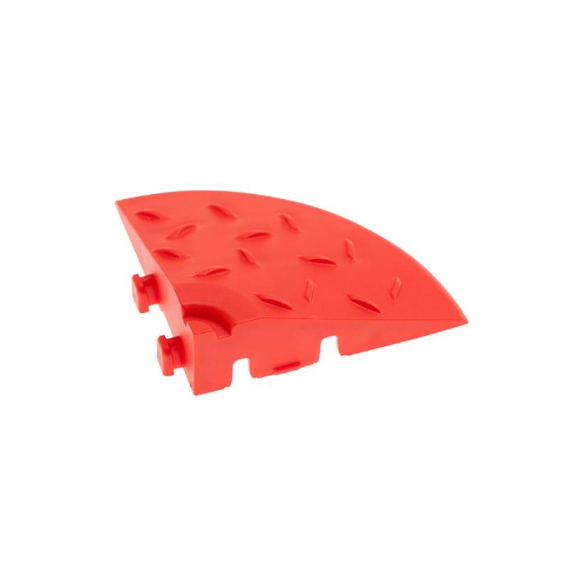 Угловой элемент обрамления Красный