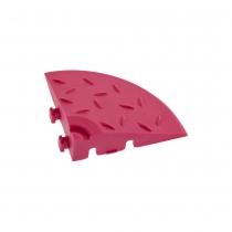 Угловой элемент обрамления Розовый