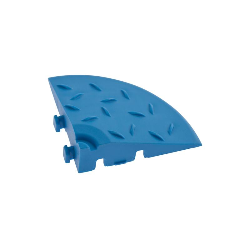 Угловой элемент обрамления Синий