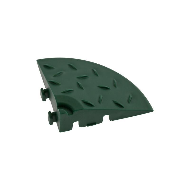 Угловой элемент обрамления Зеленый