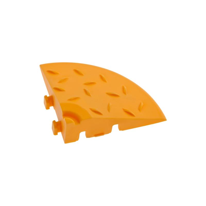Угловой элемент обрамления Желтый