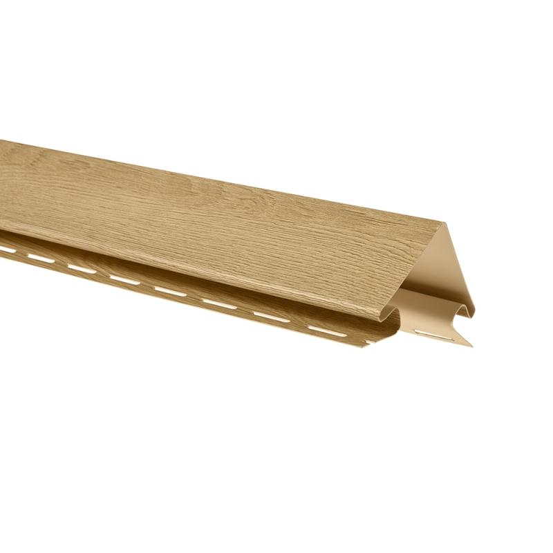 """Планка """"наружный угол"""" К-12 - ВН «Каштан» размер 3000 мм"""