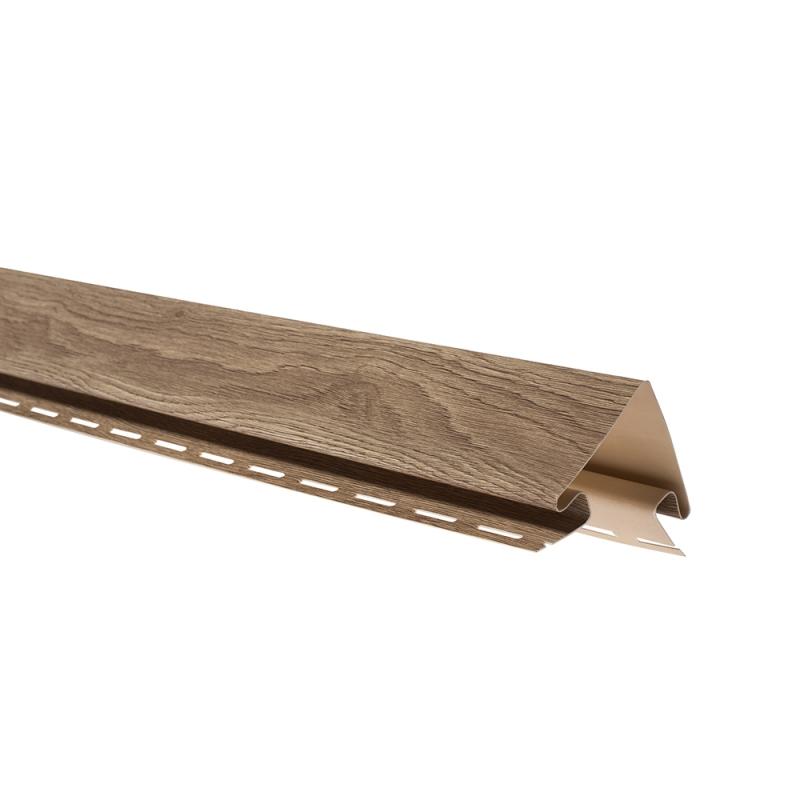 """Планка """"наружный угол"""" К-12 - ВН «Орех» размер 3000 мм"""