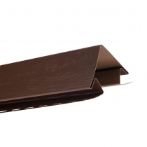 """Планка """"наружный угол"""" Т-12  """"ВН"""" размер 3000 мм Темный орех"""