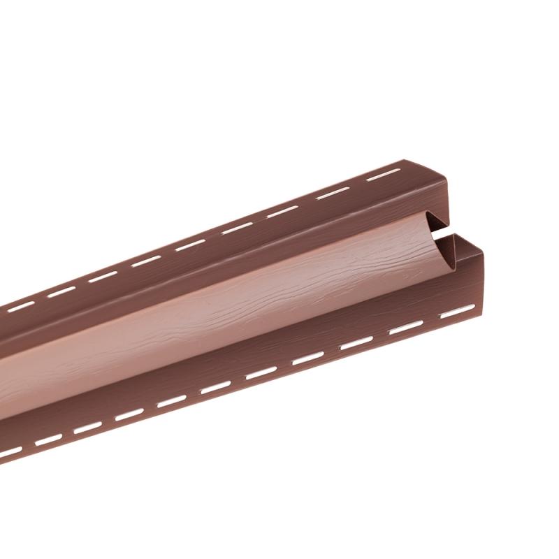 "Планка ""угол внутренний "" Т13 ""BH"" размер 3000 мм Красно-коричневый"