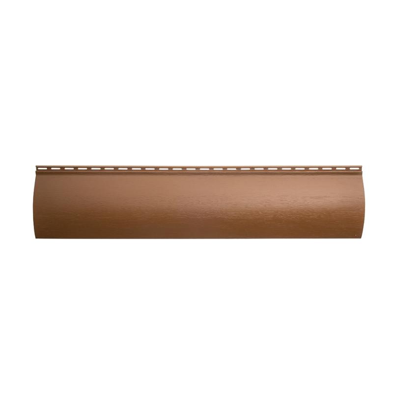 Виниловый сайдинг «Блок-хаус» Дуб светлый BH-01 размер 3,1м