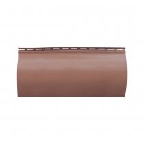 Акриловый сайдинг «Блок-хаус» Красно-коричневый BH-01 размер 3,1м
