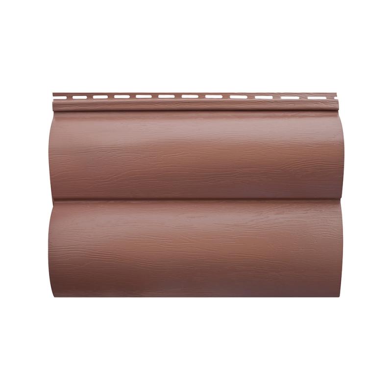 Акриловый сайдинг «Блок-хаус» Красно-коричневый BH-02 размер 3,1м