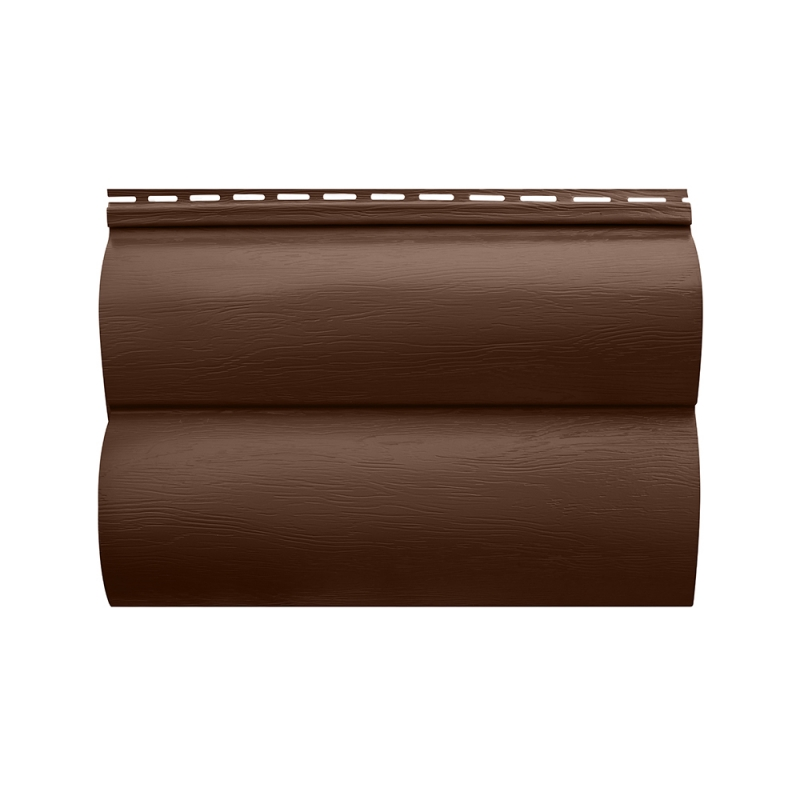 "Акриловый сайдинг ""Блок хаус"" Орех темный BH-02 размер 3,1м"