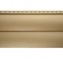 Виниловый сайдинг «Блок-хаус» золотистый BH-02 размер 3,1м