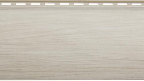 Виниловый сайдинг Блок хаус Люкс (Ясень) BH-01 - 3100 х 200 мм