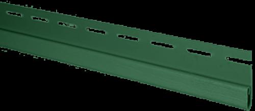 """Планка """"финишная"""" Т-14 размер 3000 мм Зеленый"""
