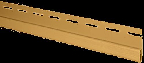"""Планка """"финишная"""" Т-14 размер 3000 мм Золотистый"""